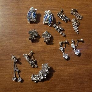 🌼Vintage🌼 Clip/Screw Earrings